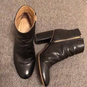 Everlane High Heel Ankle Booties